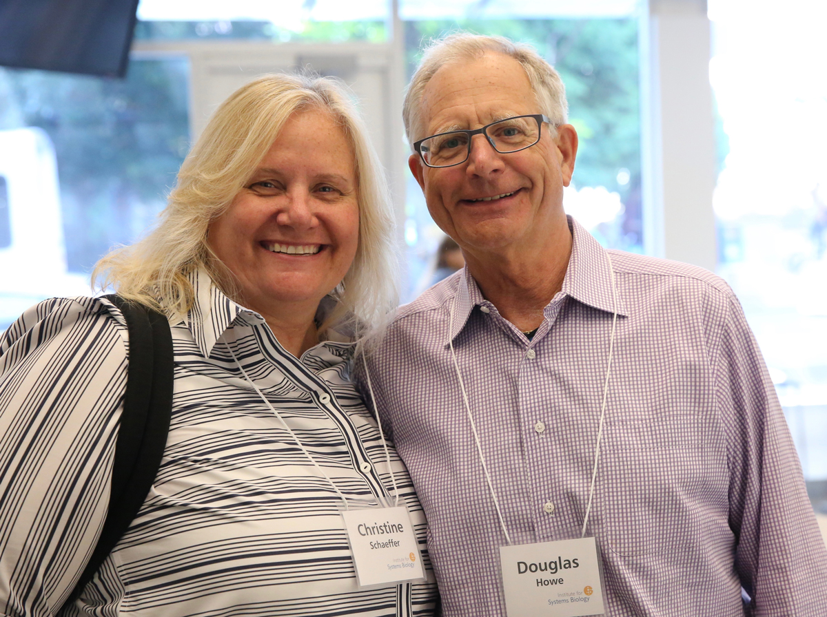 ISB Board Members Dr. Christine Schaeffer and Douglas Howe